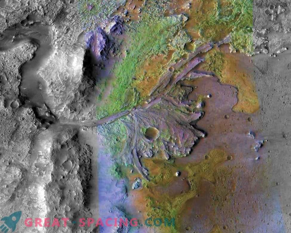 Mars 2020 se lahko vrne na mesto pristanka Spirit roverja