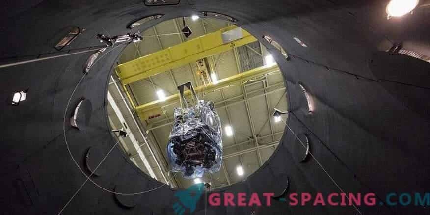 Priprava sončne sonde Parker za vesoljske polete