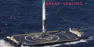 Uspešna vrnitev rakete SpaceX po vojaškem zagonu