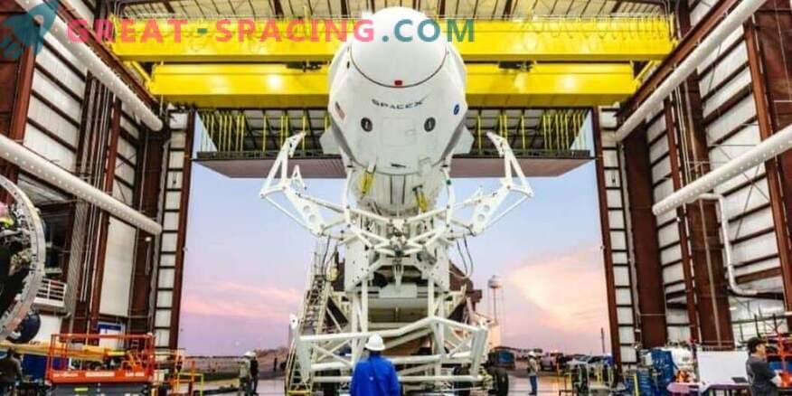 Zelena luč za preskušanje vesoljskega plovila SpaceX posadke