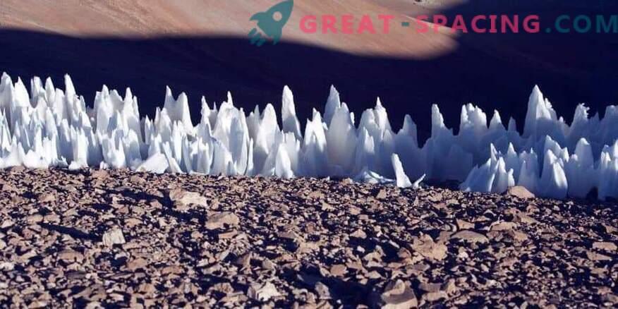 Ali evropski trni ledu vplivajo na pristanek vesoljskega plovila?