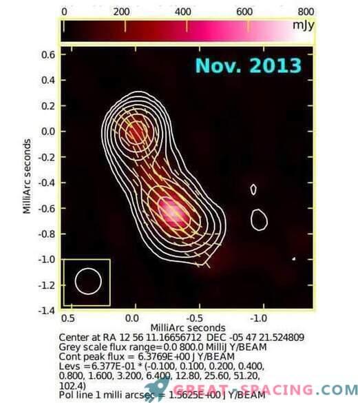 Gama žarki najdeni v blazarju 3C 279