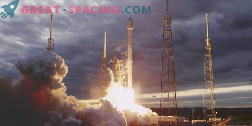 Slabo vreme ni preprečilo, da bi SpaceX sprožil satelit
