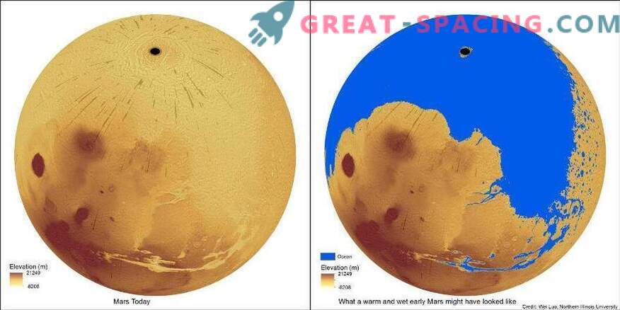 Koliko vode potrebuje, da se napolnijo doline Marsa?