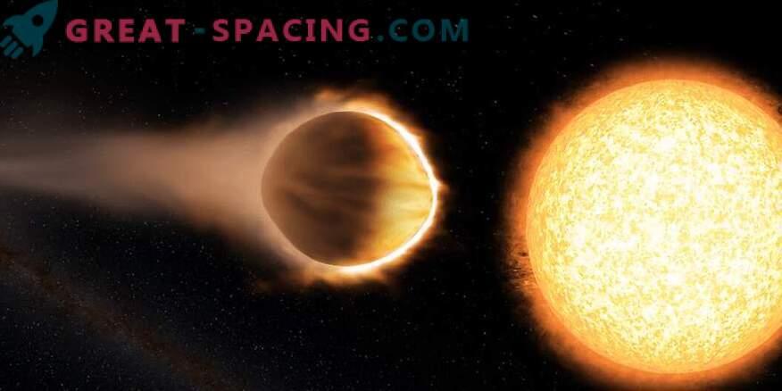 Hubble je našel eksoplanet z vodnim ozračjem