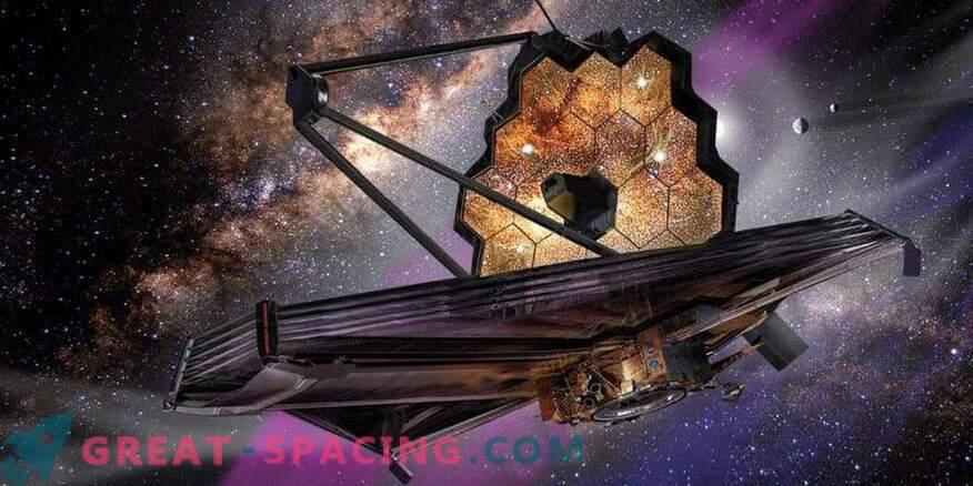 Znanstveni instrumenti teleskopa James Webb so prispeli v Kalifornijo