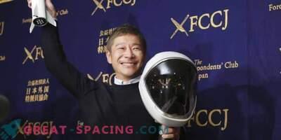 Japonski vesoljski turist je pripravljen trenirati za lunarni let