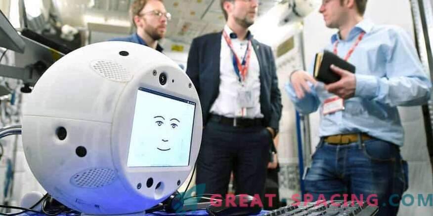 Robot z načrtom umetne inteligence načrtuje napad na vesolje