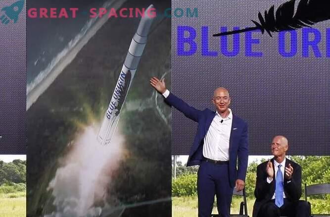 Ustanovitelj Amazon Jeff Bezos bo sprožil vesoljske rakete s Floride.