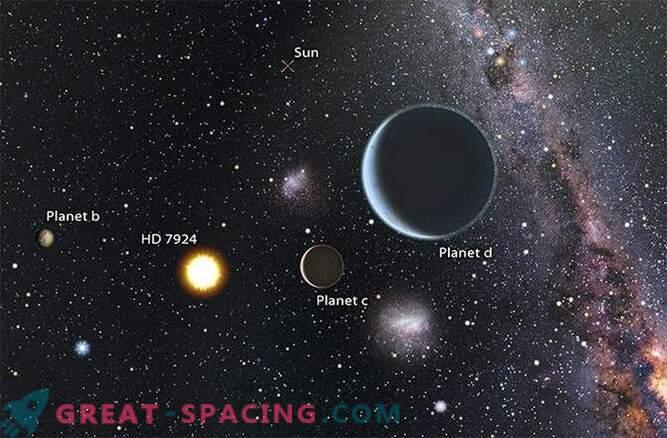 V globini vesolja so našli dve novi superzemlji.