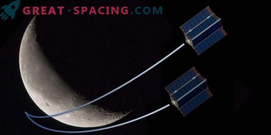 NASA raziskuje vodo na Luni.