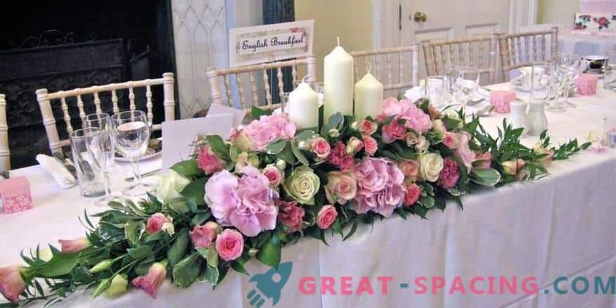 Kako okrasite poroko s cvetjem: nasveti cvetličarjev