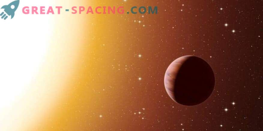 Vroči Jupiter blizu zvezde hitrosti