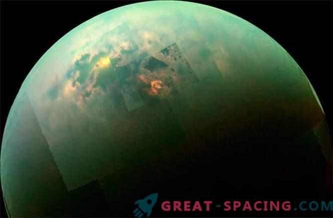 Cassini je videl sončen dan na morjih Titana