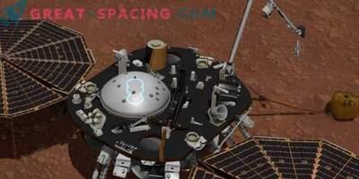 NASA InSight preučuje Marsovo vreme.