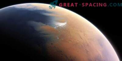 Zgodnje Mars kaže vročo puščavo z občasnimi dežji