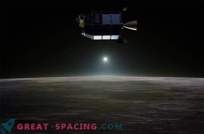NASA sonda je pokazala, da je luna zavita v neon