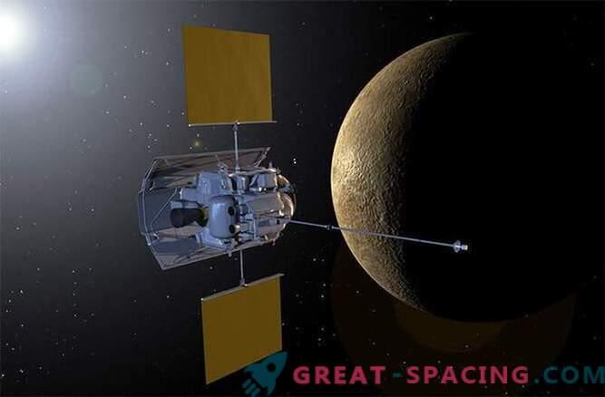 Vesoljsko plovilo je opazovalo lunin mrk od Merkurja.