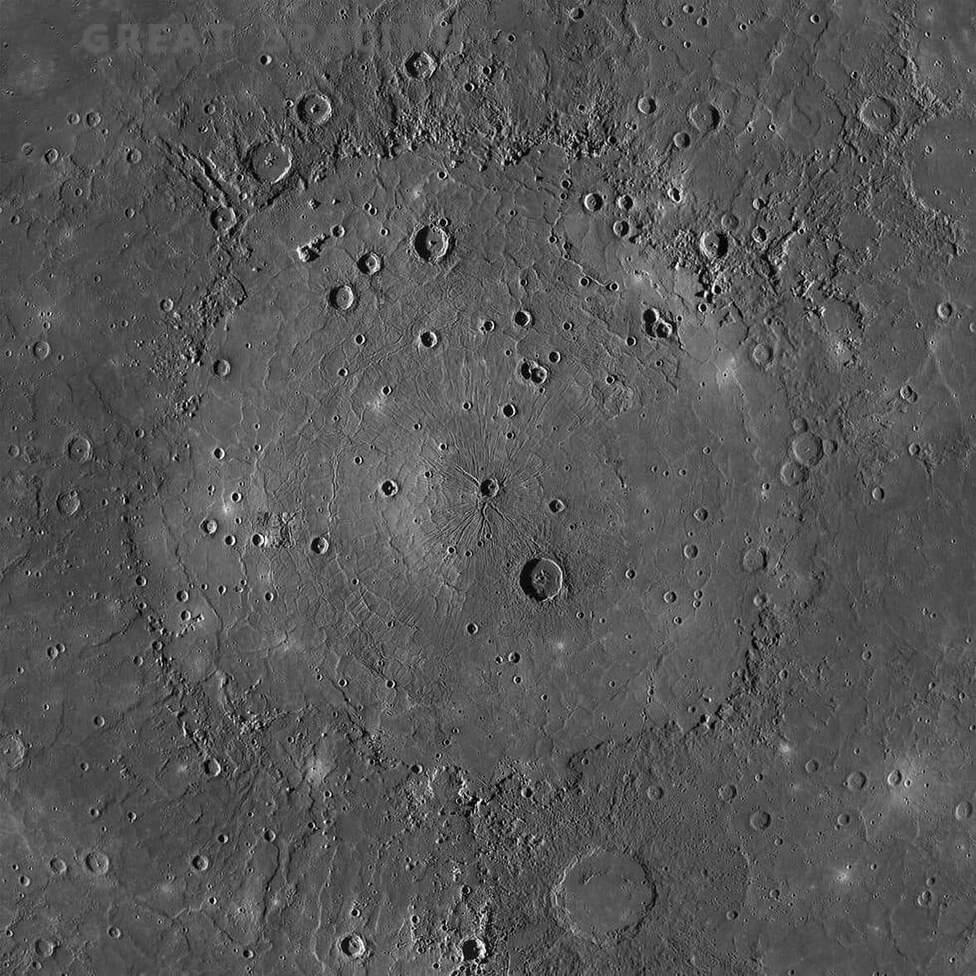 Nenavadna pokrajina kaže, da Merkur ni »mrtvi« planet.
