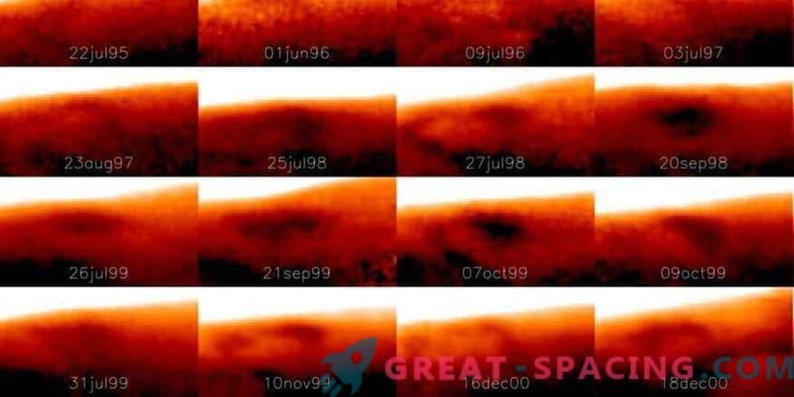 Na Jupitru je bila najdena velika hladna točka