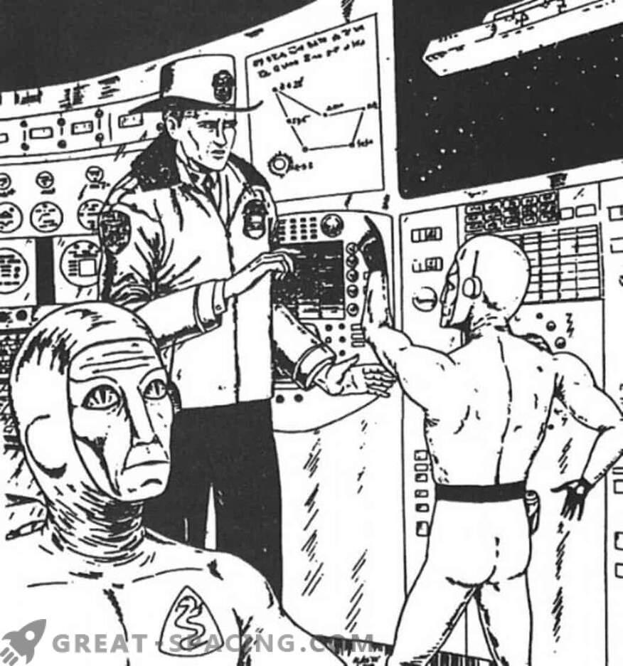 Incident v Nebraski - 1967. Policist verjame, da je bil na vesoljski ladji